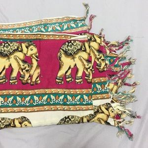 Elephant Scarf Made in Thailand